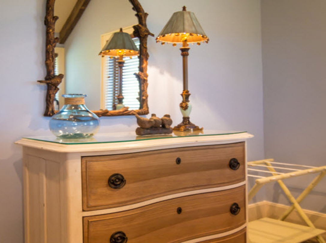 Twin Bedroom Furniture - Buttercup Haven - Franklin Vacation Rental NC